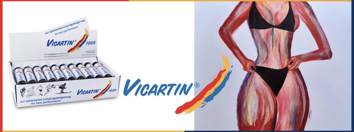 Sie sehen Kunst & Vicartin® 1000. Copyright © 2020 • Plewnia Naturprodukte.