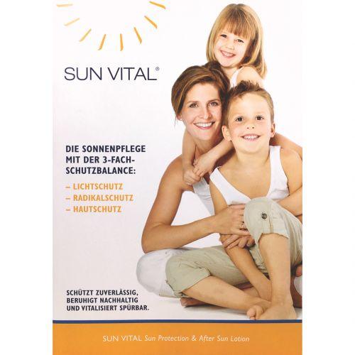Doppel-Sachet: SUN VITAL® Sun Protection | After Sun Lotion
