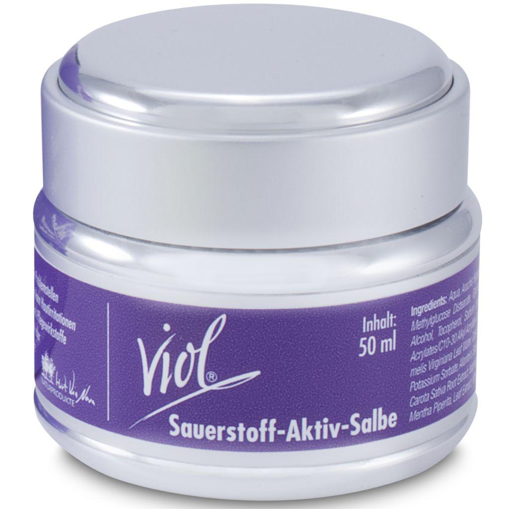 VIA NOVA - Viol® Sauerstoff-Aktiv-Salbe - AKNE SALBE, 50ml